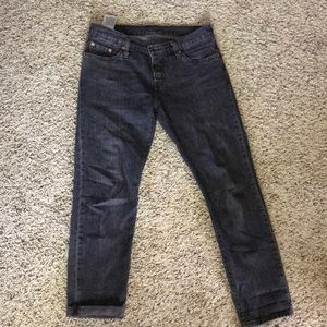 Levi's 501 washed black or grey